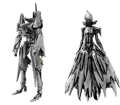 Knights of Sidonia figures